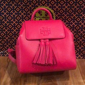 Tory Burch Mini Backpack pink/bright azalea NWT's